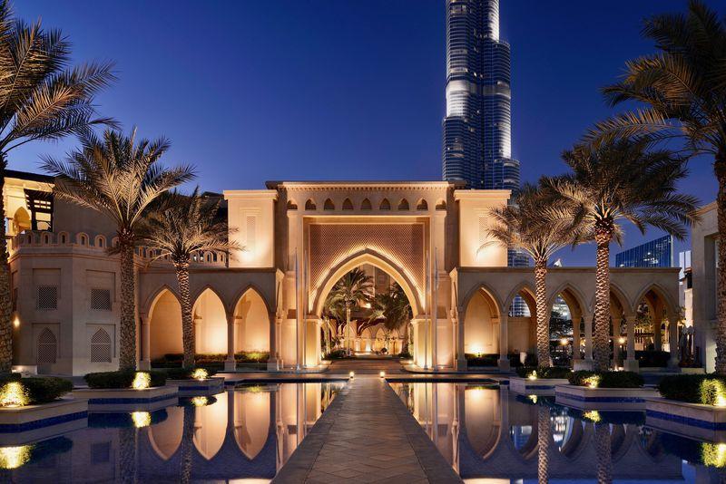 アラブの宮殿で世界一の噴水ショーを!「ザ パレス ダウンタウン ドバイ」