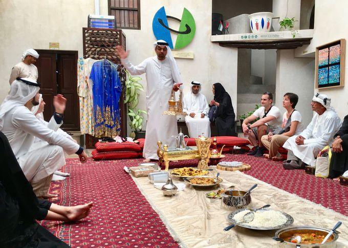 ドバイの歴史やイスラム文化を体験できる「SMCCU」