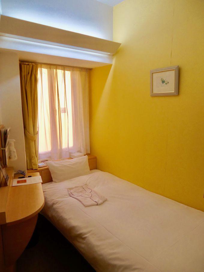 パリのアパルトマンを思わせる「内側」の客室
