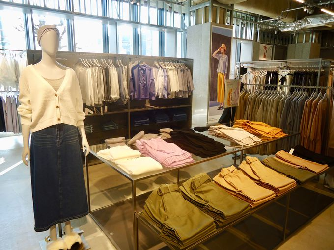 深夜まで洋服や雑貨を購入できる!2階「koe 渋谷店」