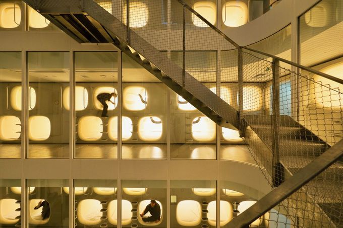 建築好きにはたまらない斬新なデザイン!
