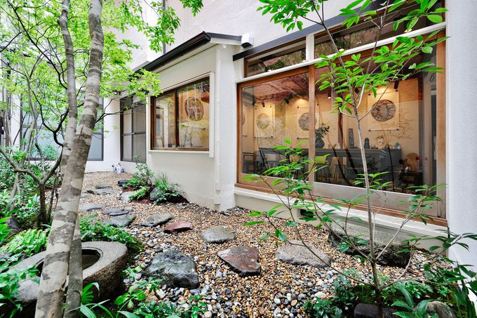 日本庭園のような美しい緑に癒される!