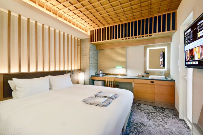 日本家屋を思わせるような趣きのある客室