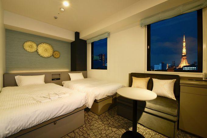 快眠と健康をテーマにした心地良い客室