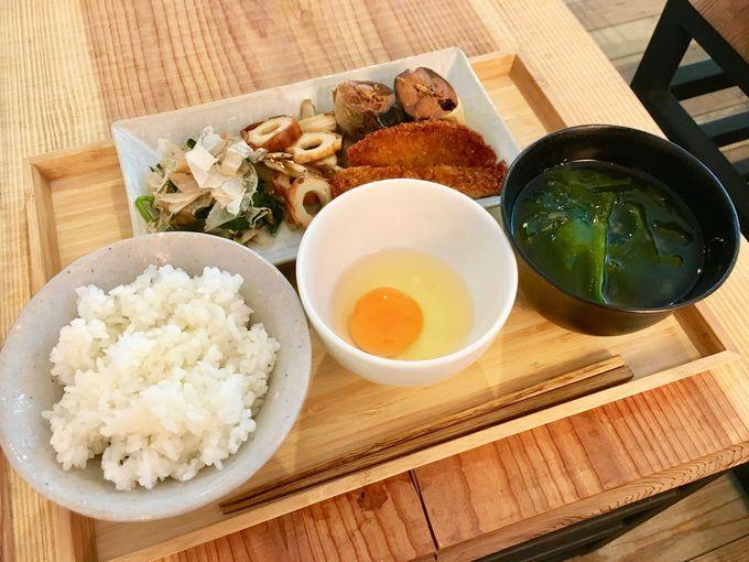 徳島産の食材をふんだんに使った朝ごはん!