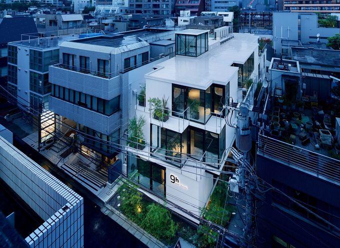 赤坂の街に現れた斬新なカプセルホテル!