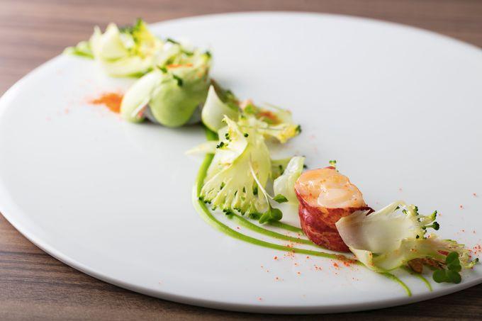独創的なフランス料理を味わえるメインダイニング