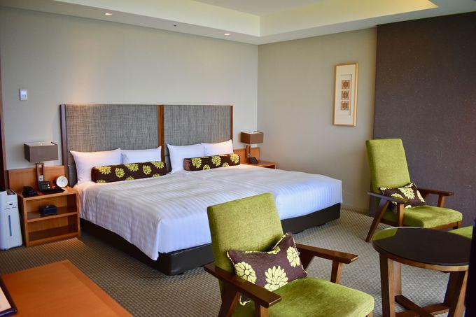 日本平の素晴らしい絶景を眺められる客室!