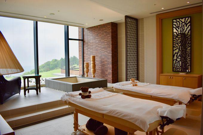 日本唯一のホテルスパ「ペボニア・ボタニカ」