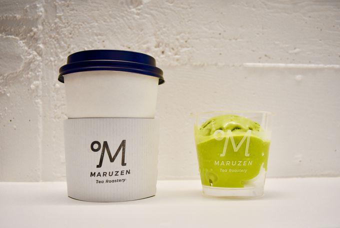 焙煎温度別にティージェラートを選ぶ!「Maruzen Tea Roastery」