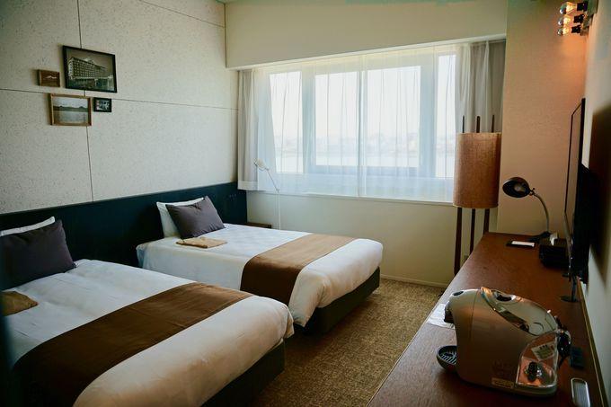 羽田空港ビューを満喫できる客室と大浴場!
