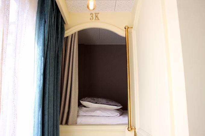 海外のホステルみたいな男女兼用ドミトリー!
