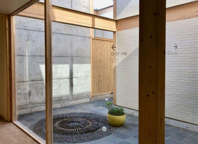 四季折々の水田風景や中庭を望める客室!