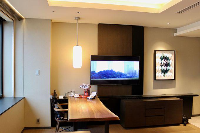 新幹線ファンも必見!洗練された和モダンな客室