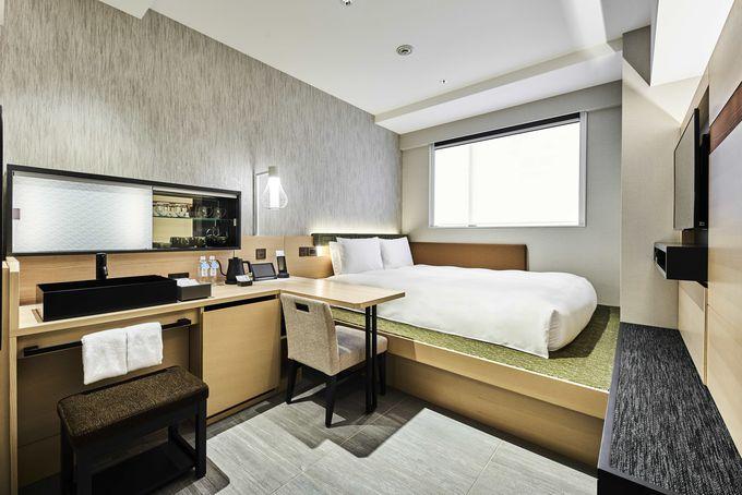 ホテルのコンセプトを体現したダブルルーム!