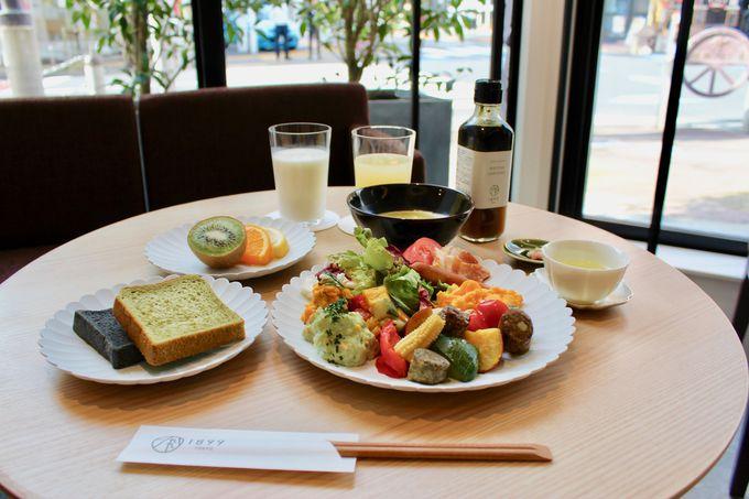 お茶料理を存分に楽しめるレストラン&デリカテッセン!