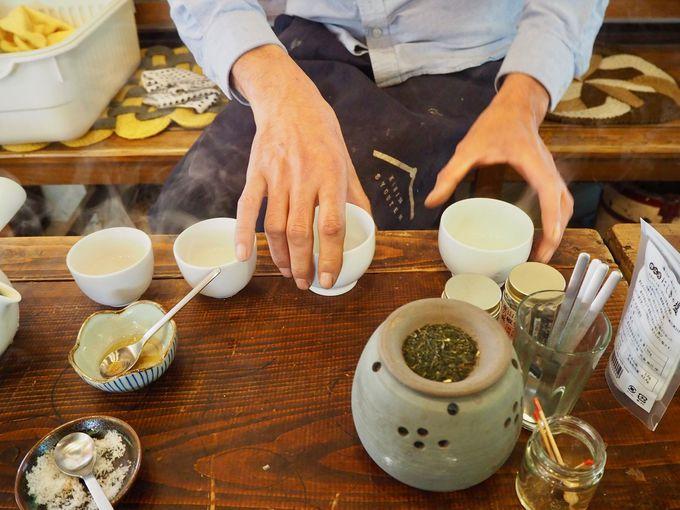 鹿児島ならでは「茶いっぺ」を楽しむ!