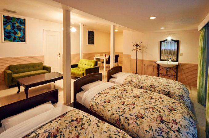 素敵な客室と露天風呂でゆったりくつろげる!