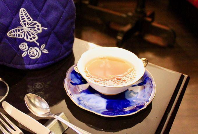 日本紅茶協会も認定!こだわりの本格紅茶を満喫