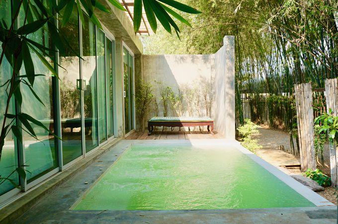 緑豊かな竹林に包まれた大きなヴィラ!