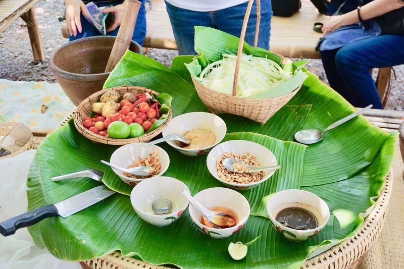 本場のソムタム作りに挑戦!タイ・コーンケーンの農場「ミーキンファーム」