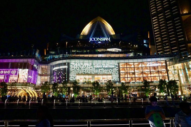 バンコク「アイコンサイアム」で夜のディナーと噴水ショーを満喫!