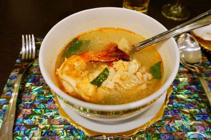 見た目にもかわいい!タイ宮廷料理の数々