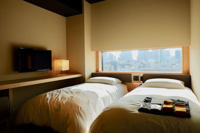 新宿のパノラマを見渡せる和モダンな客室!
