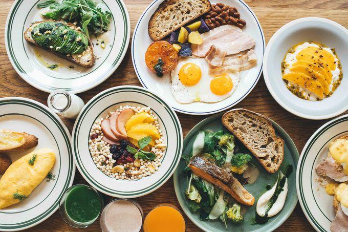 7種類から選べるNoumこだわりの朝食!