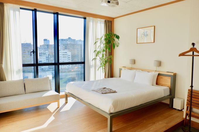 自然を感じてゆったり寛げる5つの客室!