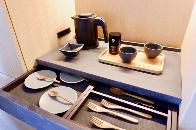 昭和記念公園を見渡せるゆったりとした客室!