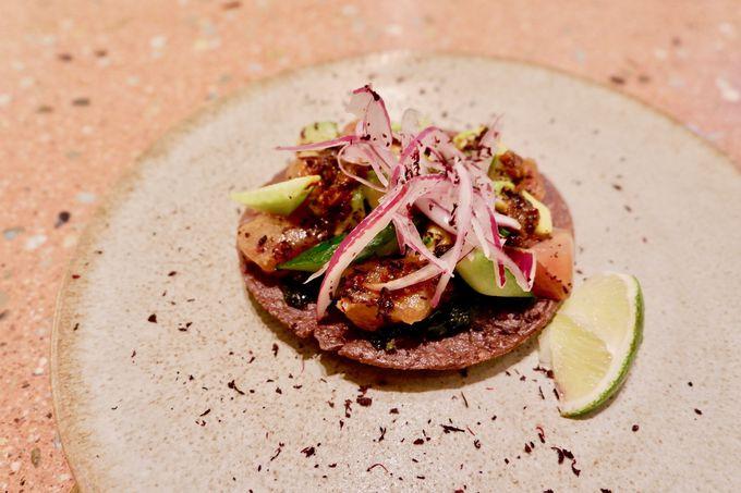 京都の素材を取り入れた斬新なメキシコ料理!