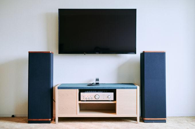 本格的な音響設備を備えたこだわりの客室!