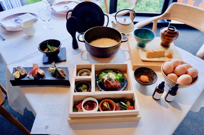 東海地方の食材を活かした豪華な和朝食も!