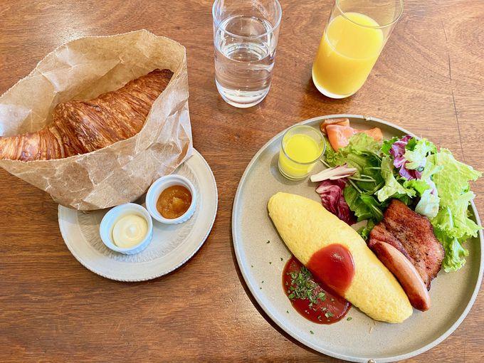 朝食は人気のイングリッシュブレックファスト!