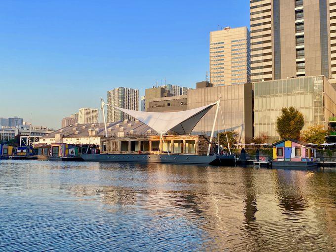 天王洲の運河に浮かぶ水上ホテル!