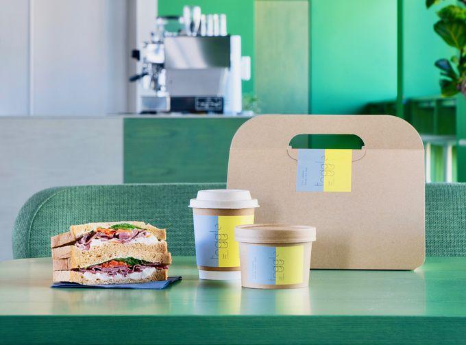 緑あふれるカフェバーやテラスで朝食を!