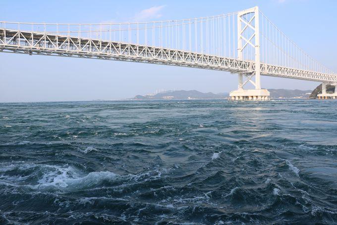 海水がうずを巻く!うず潮を目の前で観て自然の力を実感!