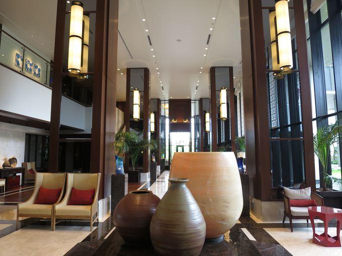 こんなにスタイリッシュなホテルは沖縄で初めて。
