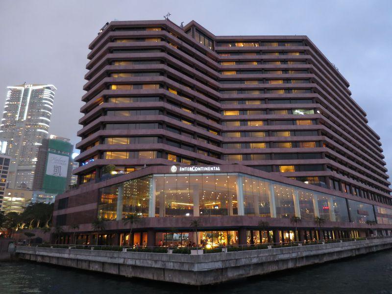 香港の夜景を独り占め!「インターコンチネンタル香港」は絶景を楽しめるホテル