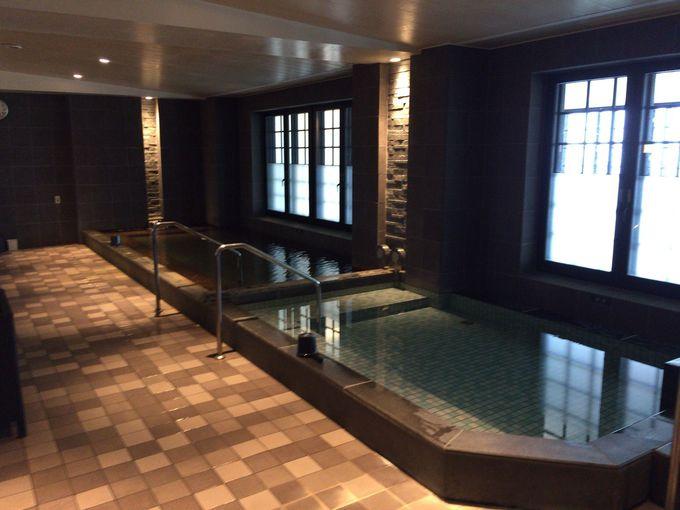 ホテル内に温泉が!その名も「タイガービーチ温泉」