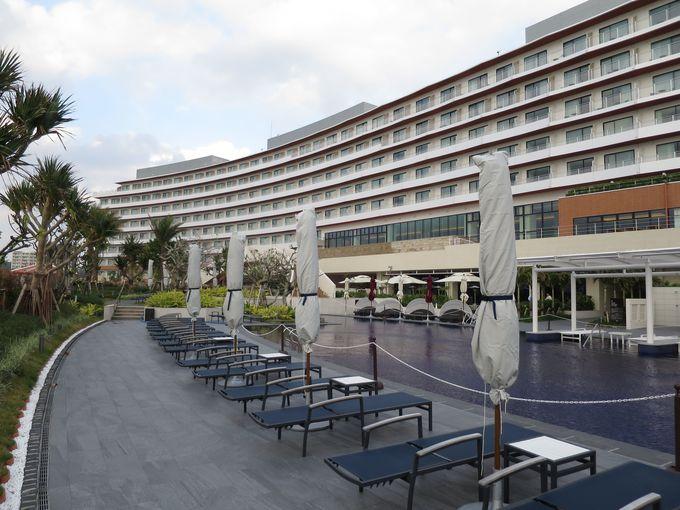 注目スポット美浜アメリカンビレッジの隣に建つ外資系ホテル