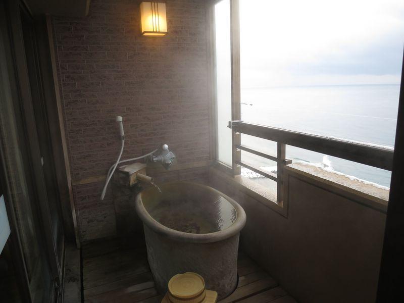 函館・いつでも海を感じることができる宿!湯の川温泉「平成館しおさい亭」