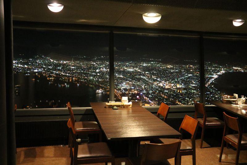 1日限定3組!函館の絶景夜景を眼下にディナー「レストラン ジェノバ」