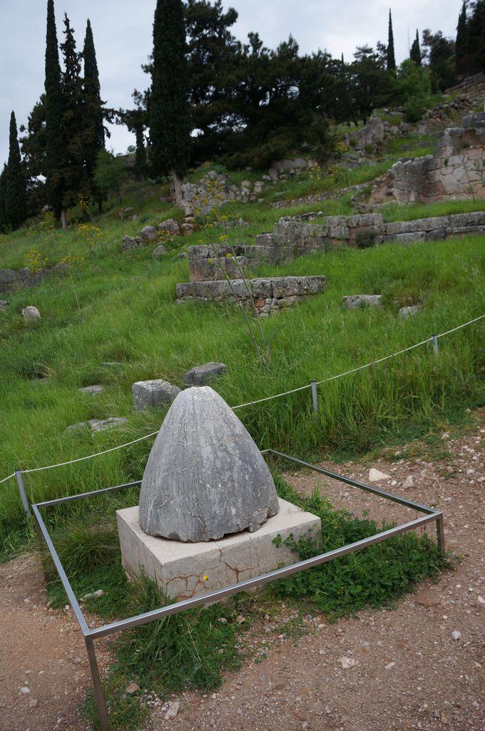 デルフィ神殿の見所