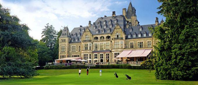 大統領も宿泊した宮殿ホテルへ!