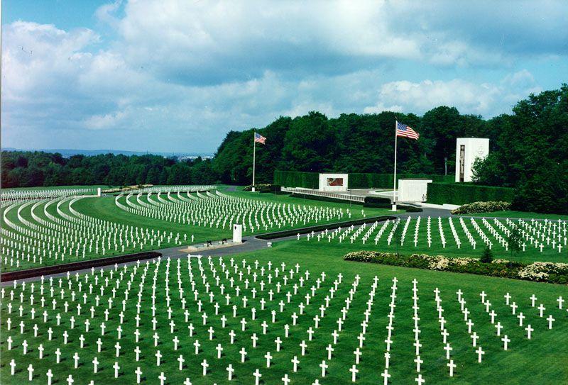 ルクセンブルク「アメリカ軍墓地」
