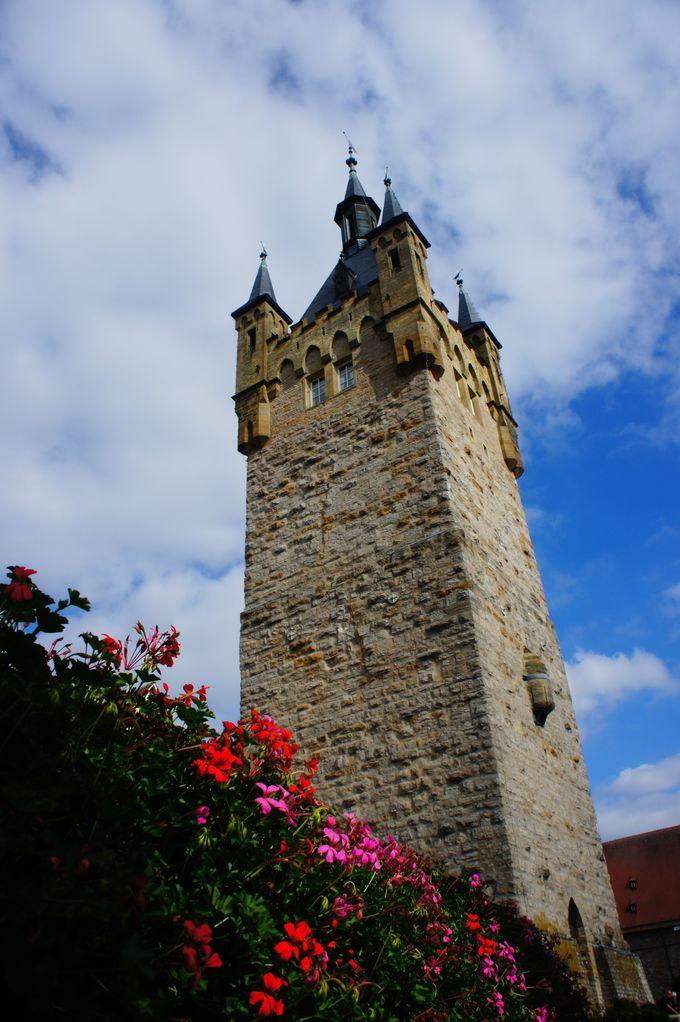 「青の塔」から見晴らす絶景