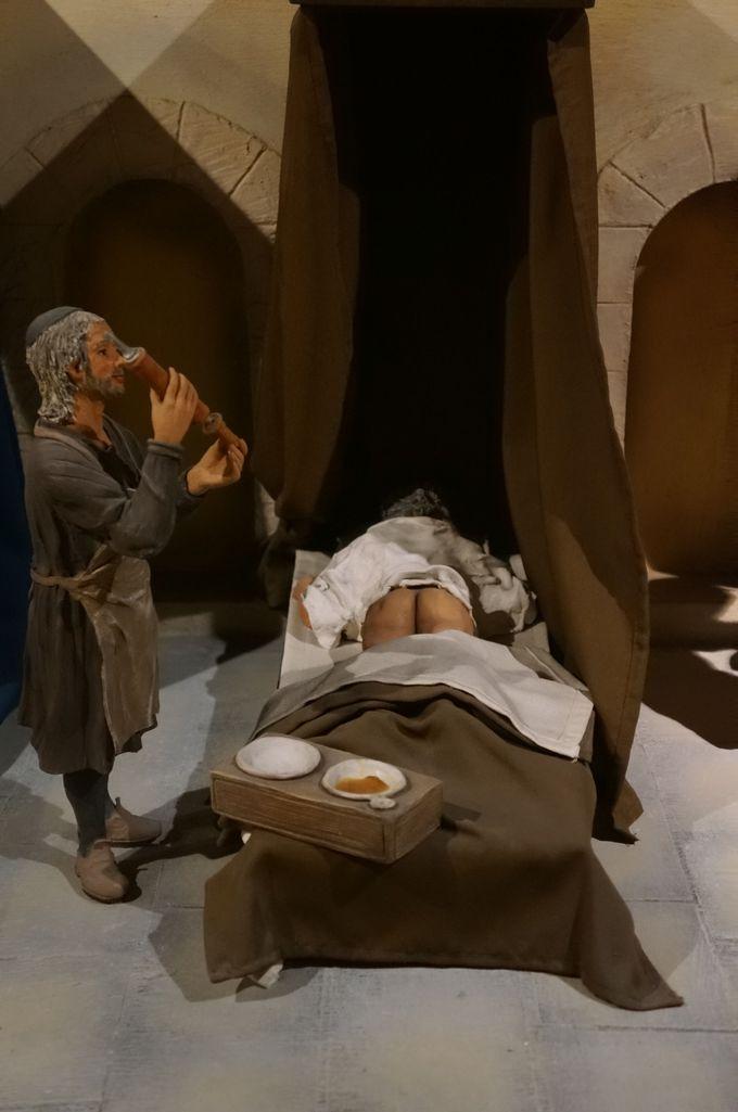 騎士団の本職を知りに「騎士団施療院」へ