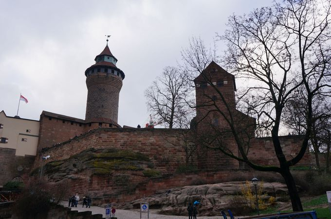 カイザー城、またの名をニュルンベルク城